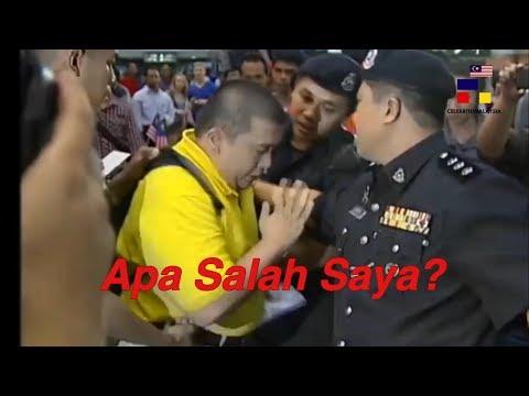 ✅Lelaki Ini Ditahan Kerana ingin Serah Surat Pada DS Najib
