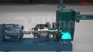 Горизонтальный самовсасывающий насос с магнитной муфтой — ГНГЦ-С.(Сайт производителя: http://villina.ru Горизонтальный насос состоит из рабочих органов, ось расположения и перемещ..., 2016-01-27T07:55:14.000Z)