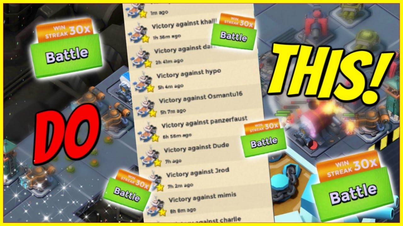 Do THIS in Season 12 for EASY WINS! // Boom Beach Warships