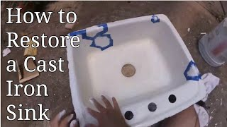 How to Restore a Cast Iron Sink
