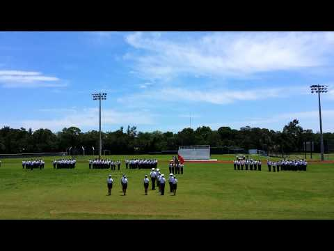 The Start of Admiral Farragut Academy Final Parade 2014 (2)
