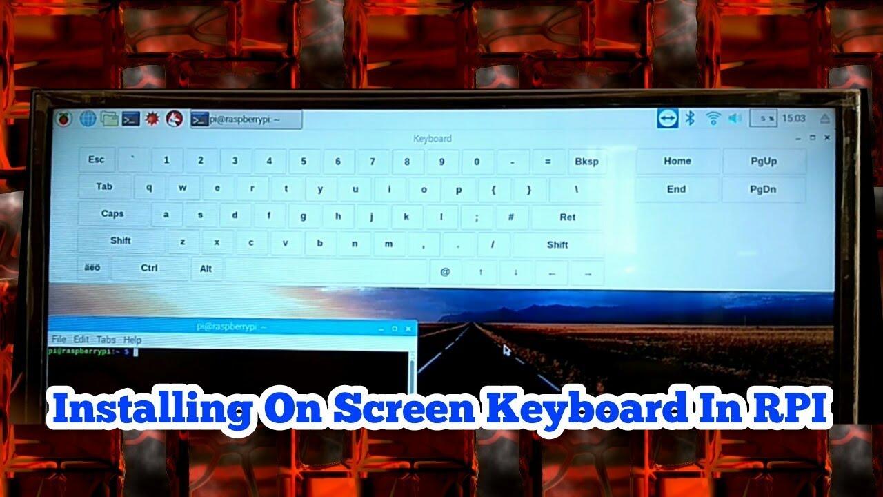 best virtual keyboard raspberry pi