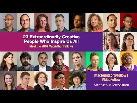 Meet the 2016 MacArthur Fellows