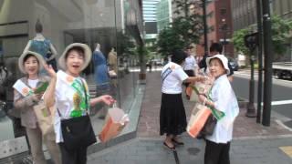 更生保護の日−街頭活動
