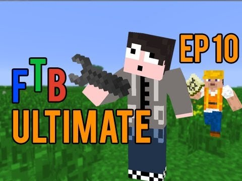 Minecraft Ftb Ultimate Pack Episode 10 Blast Furnace