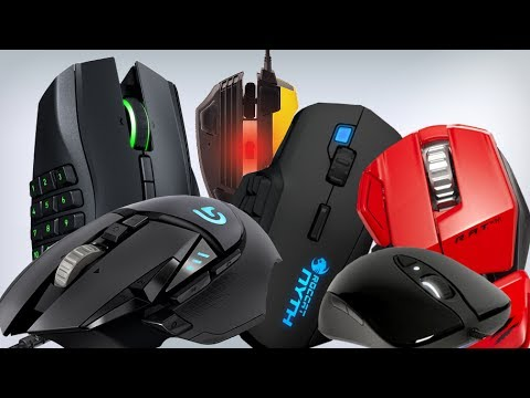 Top 5 Best FPS PC Gaming Mouse 2017  | All Time Best First Person Shooter Gaming Mice 🖱🖱
