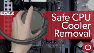 How to Remove a CṖU Cooler Safely!