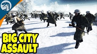 CRAZY EPIC FROZEN CITY ASSAULT | Men of War: Assault Squad 2 Gameplay