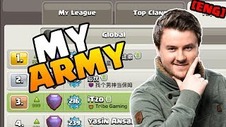 NEW Push Army | Top 3 Global | Clash of Clans | iTzu [ENG]