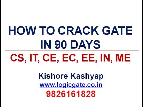 How to Crack GATE in 90 days