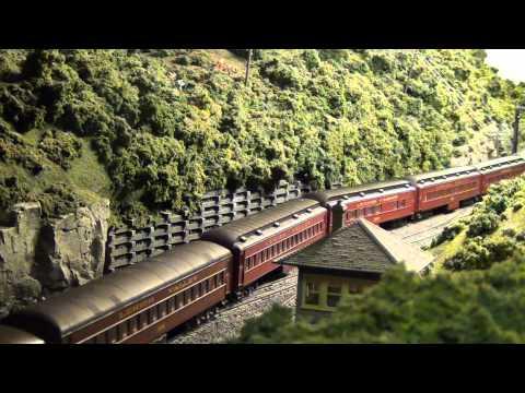 "Lehigh Valley Railroad ""Black Diamond at West Portal (L&KV Model Railroad Museum)"