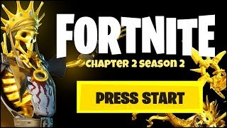 FORTNITE CHAPTER 2 SEASON 2 GOLD & TIER 100 SKIN (EVERYTHING WE KNOW)