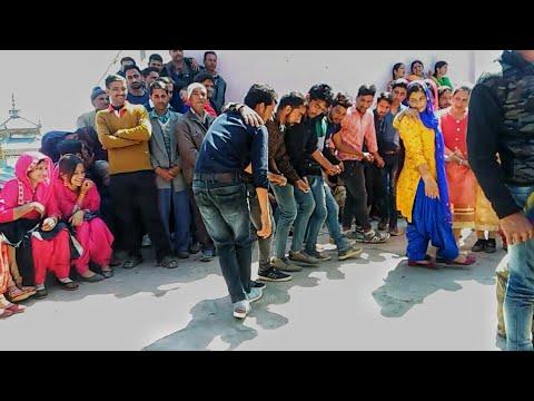 Latest Pahari Dance Video   Dance Competition   Jaunsari Dance in Marriage  