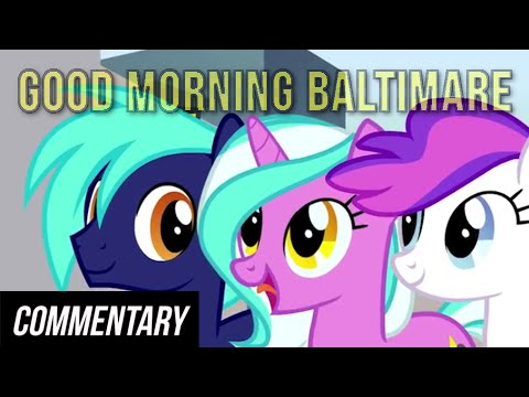 [Blind Commentary] Good Morning Baltimare...