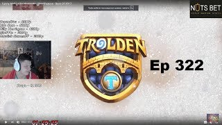 SilverName смотрит Trolden: Funny And Lucky Moments - Hearthstone - Ep. 322