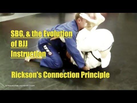 SBG, & the Evolution of BJJ Instruction Rickson's Connection Principle | SBG Video Podcast Episode 7