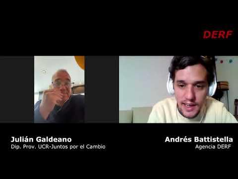Julián Galdeano: Si la oposición se divide
