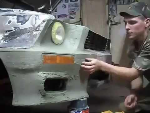 Делаем бампер своими руками для Ford Orion