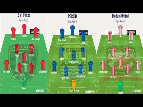 Membandingkan Formasi Bali United, Persib Bandung dan Madura United, Siapa yang lebih sangar Mp3