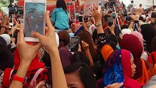 Gambar cover Bojo Galak-Via vallen di acara BNI MoRe singapura 11 maret 2018