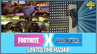 *NEW* Fortnite: JURASSIC PARK x FORTNITE IN THE WORKS! | (Limited Time Gamemode)