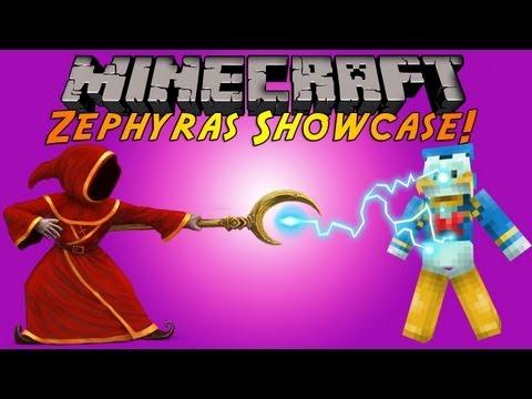 Minecraft Plugin Tutorial - Zephyras Spells - Become A Wizard!