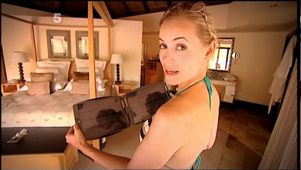 Polly gadget show bikini