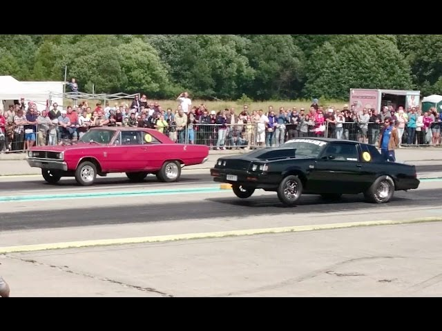 Blacklist 85 Buick GN vs 67 Dodge Dart GT 1/4mile drag race