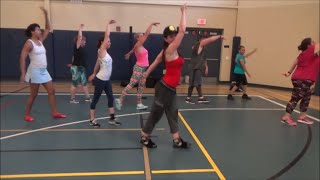 Banana Boat cha cha cool down song for Zumba/Dance Fitness routine by Jilly Zumba