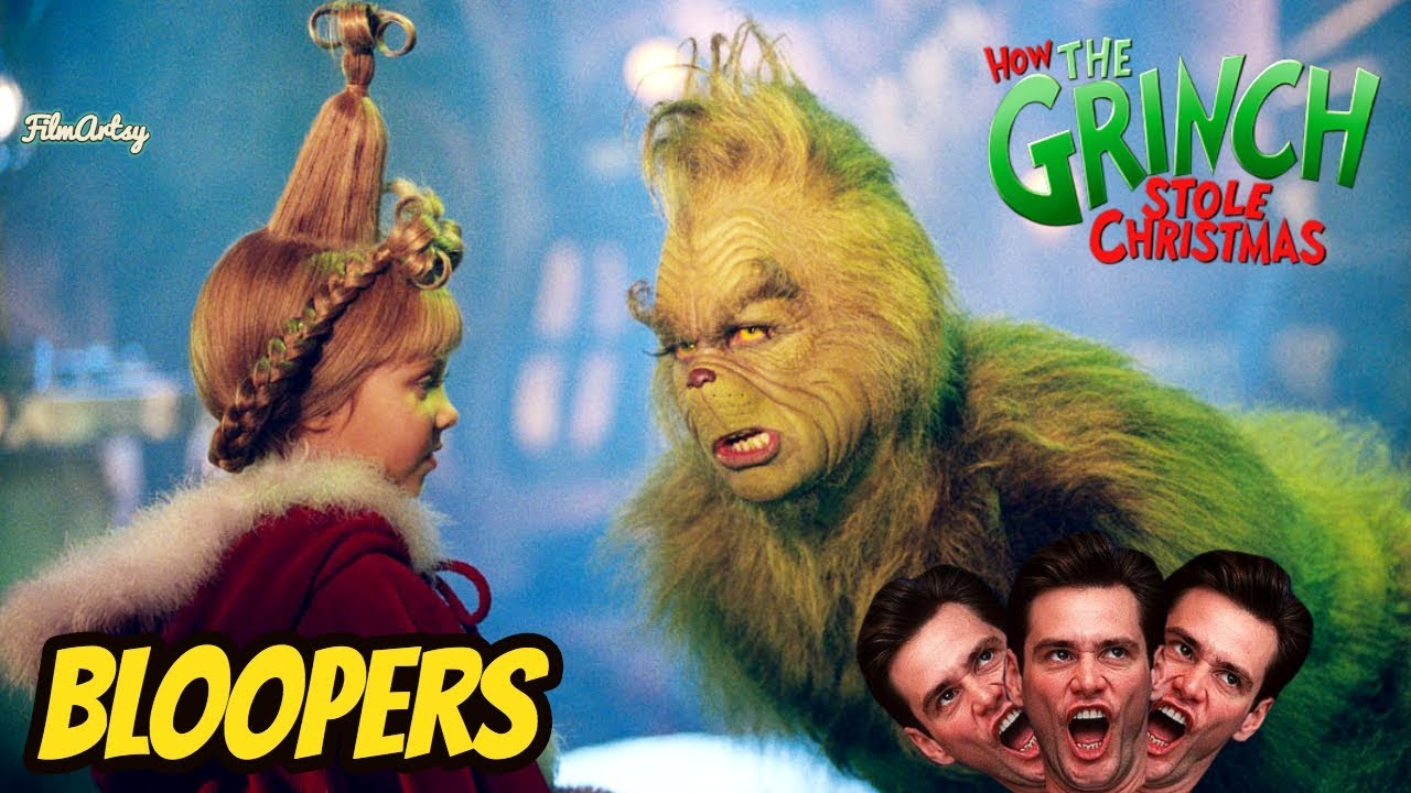 How The Grinch Stole Christmas Jim Carrey.How The Grinch Stole Christmas Hilarious Bloopers And Gag Reel Jim Carrey Funny