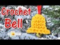 Christmas Bell Ornament Crochet Pattern & Tutorial