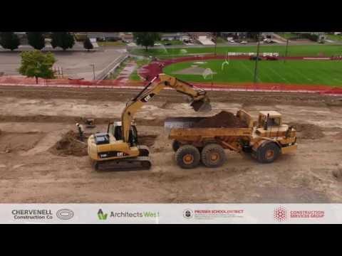 September 16th, 2019 - Prosser High School Construction Progress