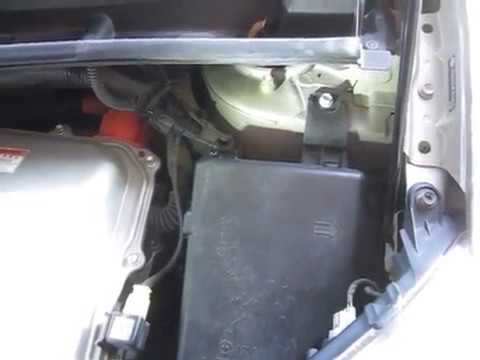 Diy Gen 2 Prius Jump Starting