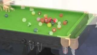 Www.madfun.co.uk - 6ft Folding Leg Snooker Table Bce Fs-6