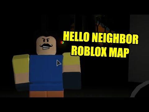 Hello FEAR beta | Hello Neighbor Roblox Map