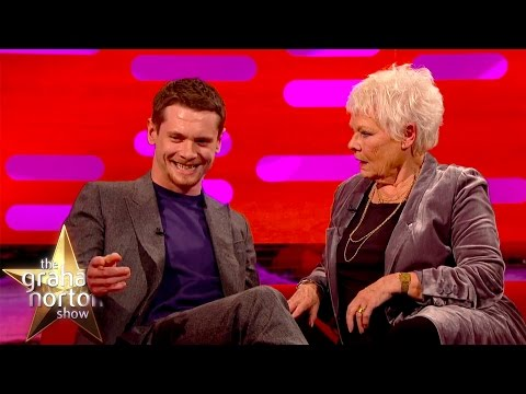 Jack O'Connell's Bum Tattoo Shocks Dame Judi Dench  The Graham Norton