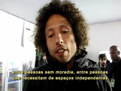 Eu apoio MST: Zack de la Rocha, vocalista do Rage Against The Machine