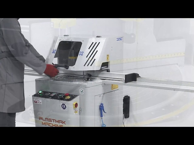 Tronzadora de un cabezal SC 401 de Plastmak en Ventytec. Venta y Reparación de Maquinaria Industrial