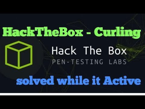 HackTheBox - Curling - Solved