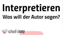 Interpretieren - Was bedeutet das?