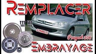 🔩🛠...Changer un embrayage sur Peugeot 206...🛠🔩