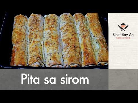 Pita sa Sirom od gotovih kora - Cheese Pie - Käse Röllchen