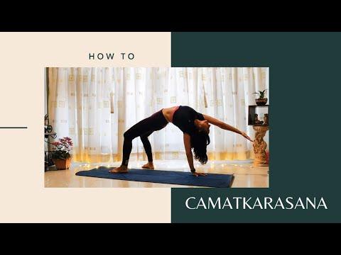 How To: Camatkarasana or Wild Thing Pose