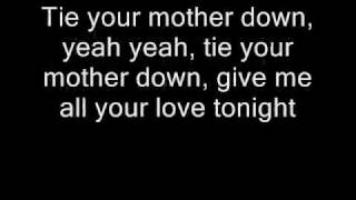 Queen - Tie Your Mother Down (Lyrics)