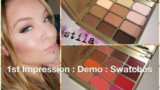 1st Impression : Demo : Stila Spring 2015 Nouveau Natural & Field of Florals Palettes Thumbnail