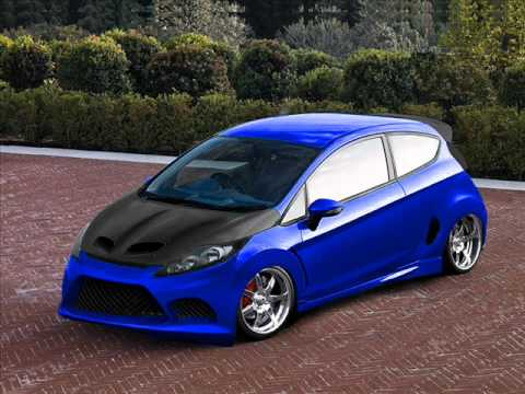 virutal tuning 2011 ford fiesta transformation youtube. Black Bedroom Furniture Sets. Home Design Ideas