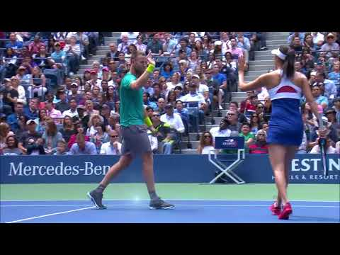 WATCH: Highlights Hingis / Murray Def. Venus / Chan  To Win 2017 US Open Mixed Doubles Championship