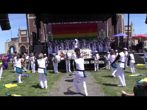 The Lesbian & Gay Big Apple Corps Performing Dance Again  at Jersey Pride 2015