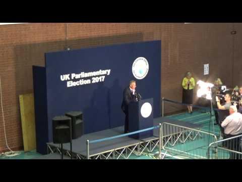 Antrim North - General Election Declaration