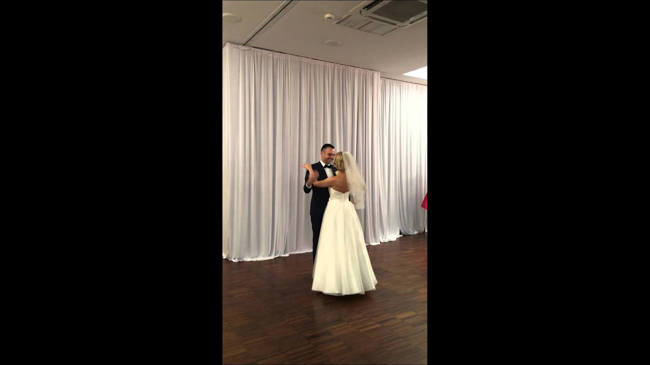 Wedding First Dance Come Away With Me Waltz